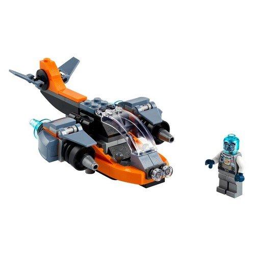 Lego Creator 3in1 31111: Cyber-drone  (Lingua: Multilingua - Stato: Nuovo)
