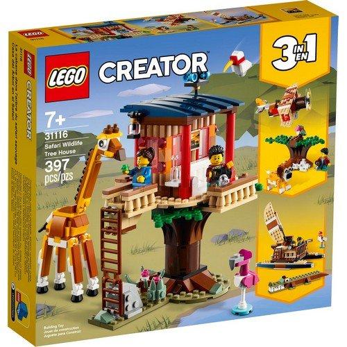 Lego Creator 3in1 31116: Casa sull'Albero del Safari  (Lingua: Multilingua - Stato: Nuovo)