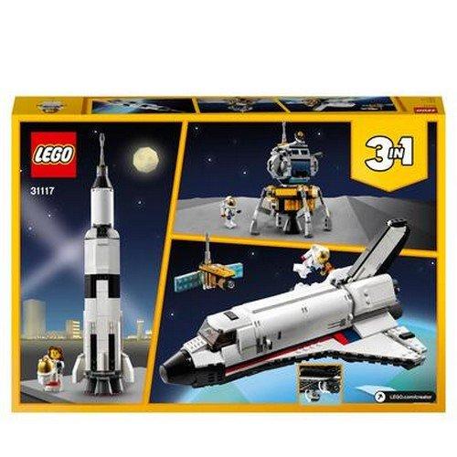 Lego Creator 3in1 31117: Avventura dello Space Shuttle  (Lingua: Multilingua - Stato: Nuovo)