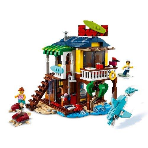 Lego Creator 3in1 31118: Surfer Beach House  (Lingua: Multilingua - Stato: Nuovo)