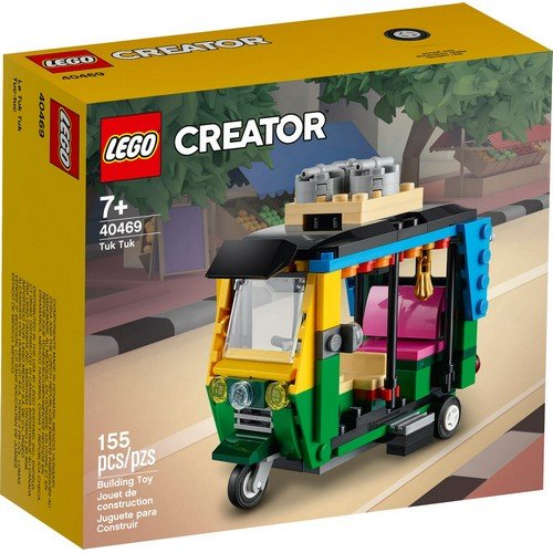 Lego Creator 40469: Tuk Tuk  (Lingua: Multilingua - Stato: Nuovo)