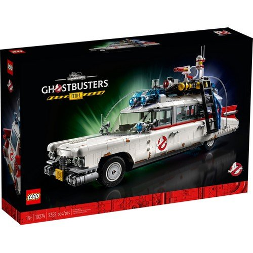 Lego Creator Expert 10274: Ghostbusters™ ECTO-1  (Language: Multilingual - Conditions: New)
