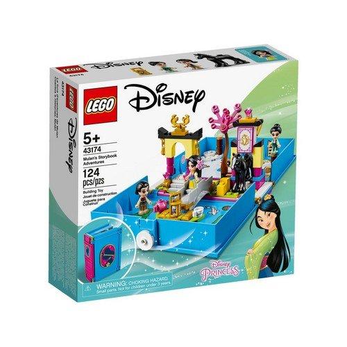 Lego Disney 43174: Princess, Il Libro delle Fiabe di Mulan  (Lingua: Italiano - Stato: Nuovo)