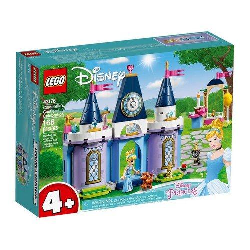 Lego Disney 43178: Princess, La Festa al Castello di Cenerentola  (Lingua: Multilingua - Stato: Nuovo)