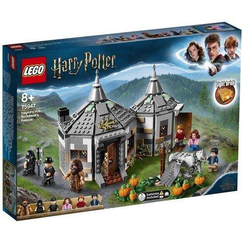 Lego Harry Potter 75947: La Capanna di Hagrid, il Salvataggio di Fierobecco  (Lingua: Multilingua - Stato: Nuovo)