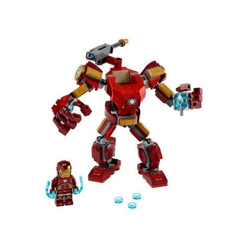 Lego Marvel 76140: Mech Iron Man  (Lingua: Multilingua - Stato: Nuovo)