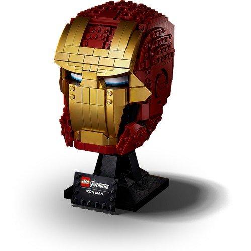 Lego Marvel 76165: Casco di Iron Man  (Lingua: Multilingua - Stato: Nuovo)