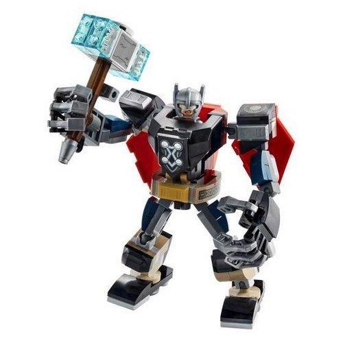 Lego Marvel 76169: Armatura Mech di Thor  (Lingua: Multilingua - Stato: Nuovo)