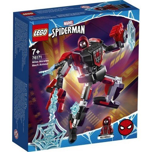 Lego Marvel 76171: Miles Morales Mech Armor  (Language: Multilingual - Conditions: New)