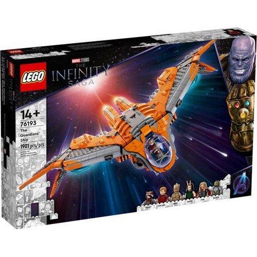Lego Marvel 76193: L'Astronave dei Guardiani  (Lingua: Multilingua - Stato: Nuovo)