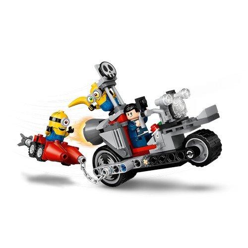 Lego Minions 75549: Moto da Inseguimento  (Lingua: Multilingua - Stato: Nuovo)