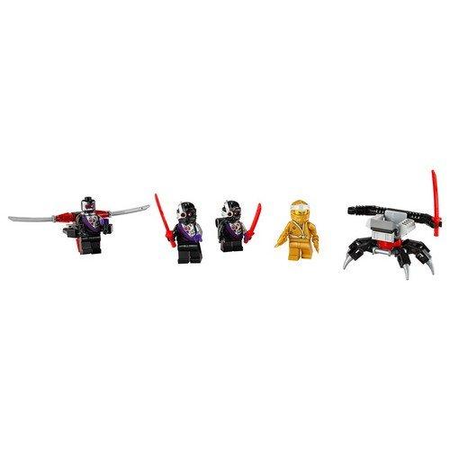 Lego Ninjago 40374: Set Accessori MF Zane d'Oro LEGO®  (Lingua: Multilingua - Stato: Nuovo)
