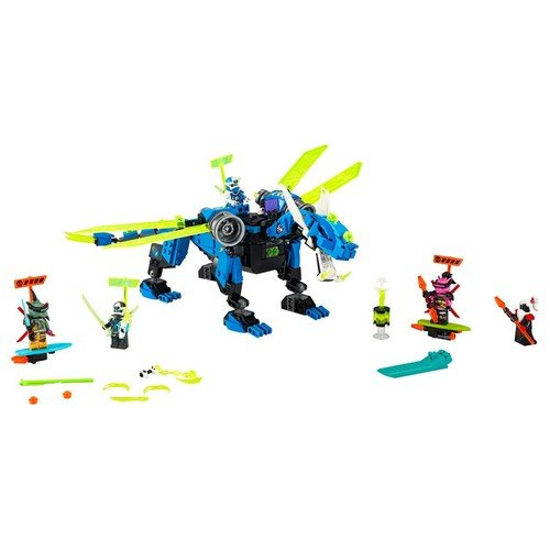 Lego Ninjago 71711: Il Cyber-Dragone di Jay  (Lingua: Multilingua - Stato: Nuovo)