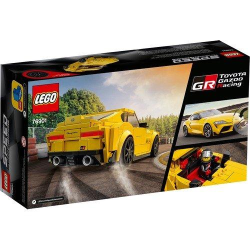 Lego Speed Champions 76901: Toyota GR Supra  (Lingua: Multilingua - Stato: Nuovo)