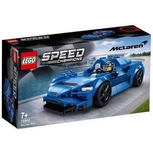 Lego Speed Champions 76902: McLaren Elva  (Lingua: Multilingua - Stato: Nuovo)