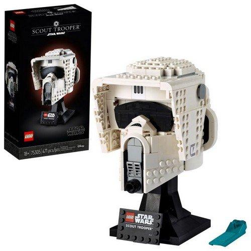 Lego Star Wars 75305: Casco di Scout Trooper  (Lingua: Multilingua - Stato: Nuovo)