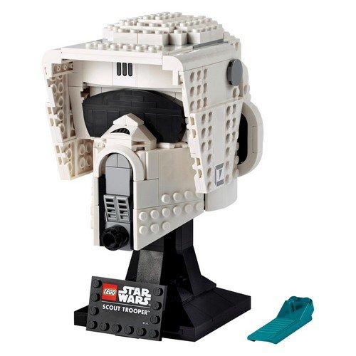 Lego Star Wars 75305: Scout Trooper™ Helmet  (Language: Multilingual - Conditions: New)