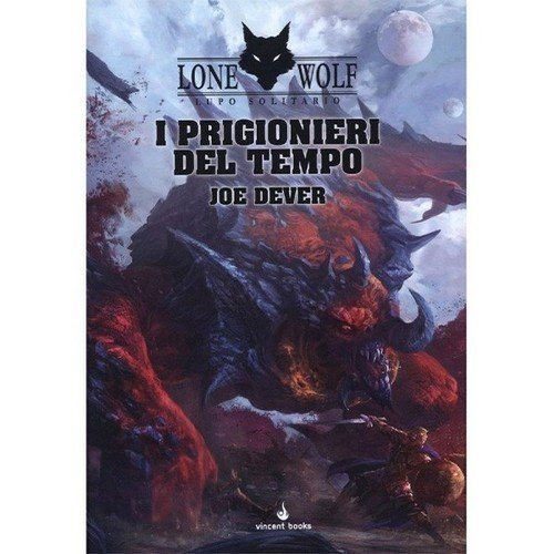 Lone Wolf 11: I Prigionieri del Tempo  (Lingua: Italiano - Stato: Nuovo)