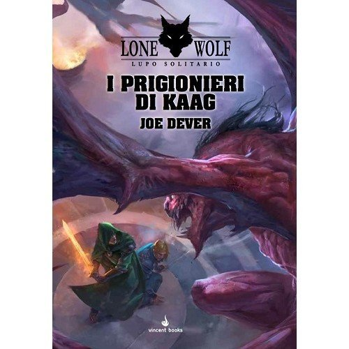 Lone Wolf 14: I Prigionieri di Kaag  (Lingua: Italiano - Stato: Nuovo)