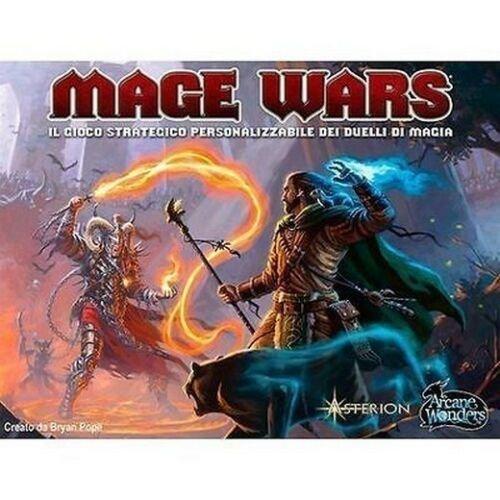 Mage Wars  (Lingua: Italiano - Stato: Nuovo con Scatola Danneggiata)