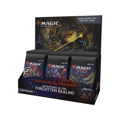 Magic Avventure nei Forgotten Realms Set Boosters  (Lingua: Inglese - Stato: Nuovo)