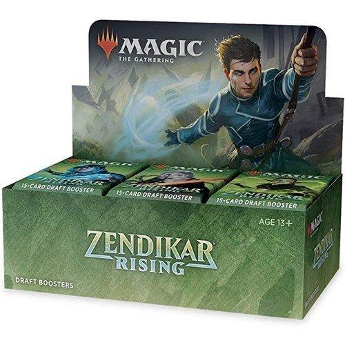 Magic Rinascita di Zendikar Draft Box 36 Buste  (Lingua: Inglese - Stato: Nuovo)