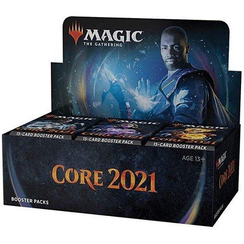 Magic Set Base 2021 Box 36 Buste  (Lingua: Inglese - Stato: Nuovo)