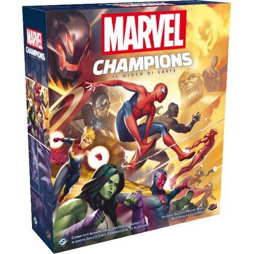 Marvel Champions LCG: Il Gioco di Carte  (Lingua: Italiano - Stato: Nuovo)