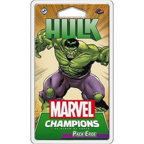 Marvel Champions LCG: Hulk Pack Eroe  (Lingua: Italiano - Stato: Nuovo)