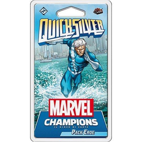 Marvel Champions LCG: Quicksilver Pack Eroe  (Lingua: Italiano - Stato: Nuovo)
