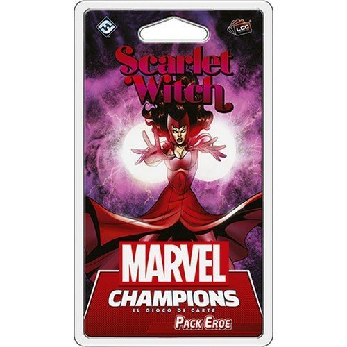 Marvel Champions LCG: Scarlet Witch Pack Eroe