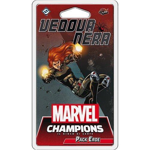 Marvel Champions LCG: Vedova Nera Pack Eroe  (Lingua: Italiano - Stato: Nuovo)