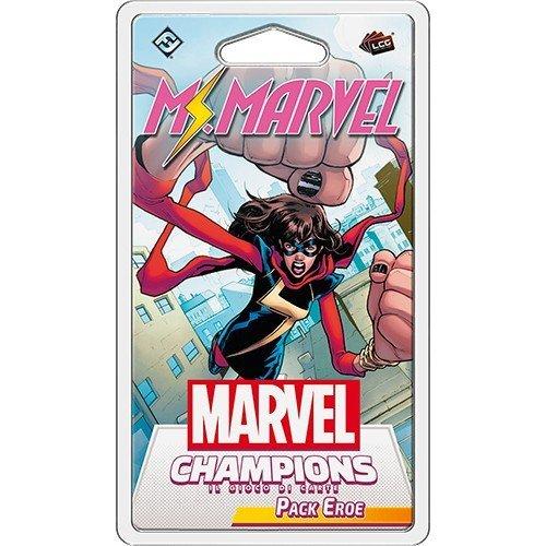 Marvel Champions LCG: Ms. Marvel Pack Eroe  (Lingua: Italiano - Stato: Nuovo)