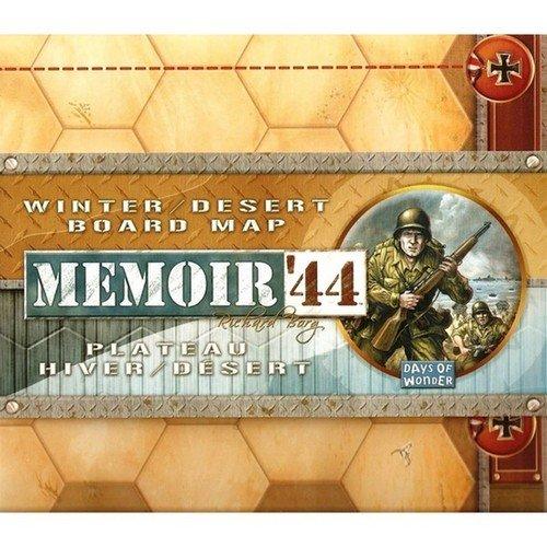 Memoir '44: Winter / Desert Board Map  (Lingua: Inglese, Francese - Stato: Nuovo)