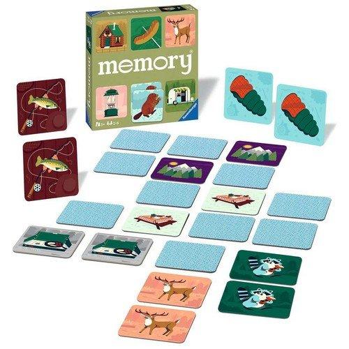 Memory, Avventure in Campeggio  (Lingua: Italiano, Inglese, Francese, Spagnolo, Tedesco, Olandese, Portoghese - Stato: Nuovo)