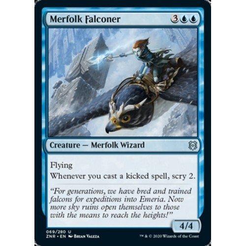 Merfolk Falconer  (Language: English - Conditions: Near Mint)
