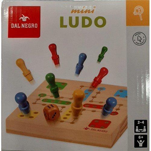 Mini Ludo  (Lingua: Italiano, Francese, Tedesco, Inglese, Spagnolo - Stato: Nuovo)