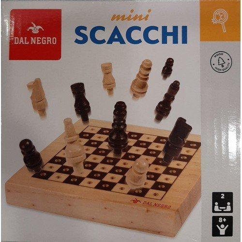 Mini Scacchi  (Lingua: Italiano, Francese, Tedesco, Inglese, Spagnolo - Stato: Nuovo)