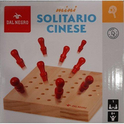 Mini Solitario Cinese  (Lingua: Italiano, Francese, Tedesco, Inglese, Spagnolo - Stato: Nuovo)