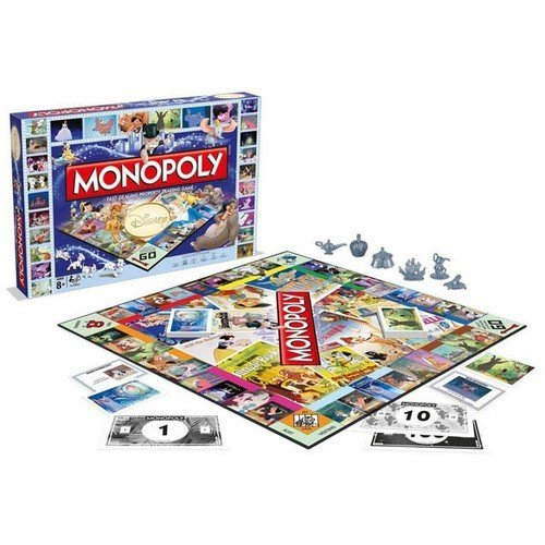 Monopoly Disney  (Lingua: Italiano - Stato: Nuovo)