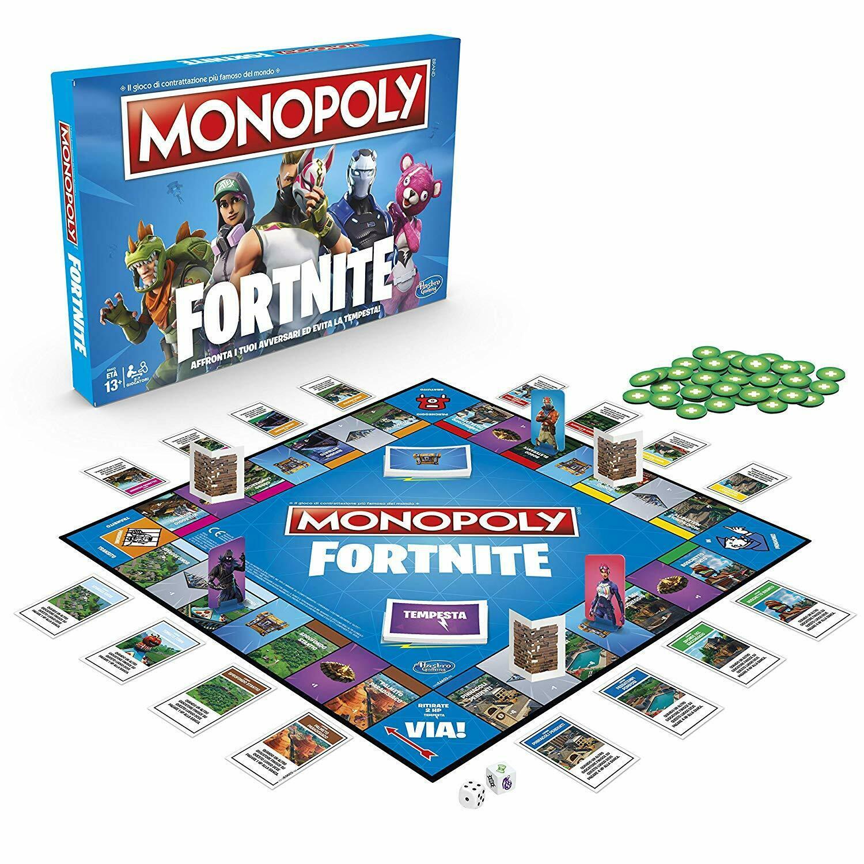 Monopoly Fortnite  (Lingua: Inglese - Stato: Nuovo)