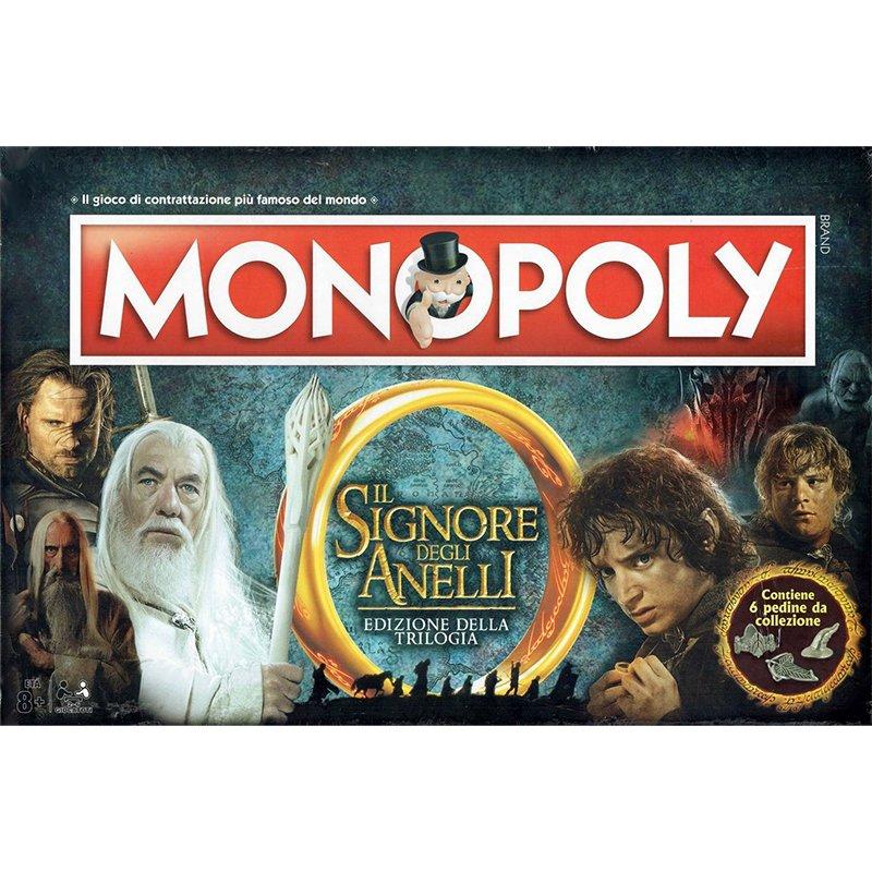 Monopoly Il Signore degli Anelli Edizione Trilogia  (Lingua: Italiano - Stato: Nuovo)