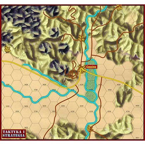 Monte Cassino 1944  (Lingua: Inglese, Polacco - Stato: Nuovo)