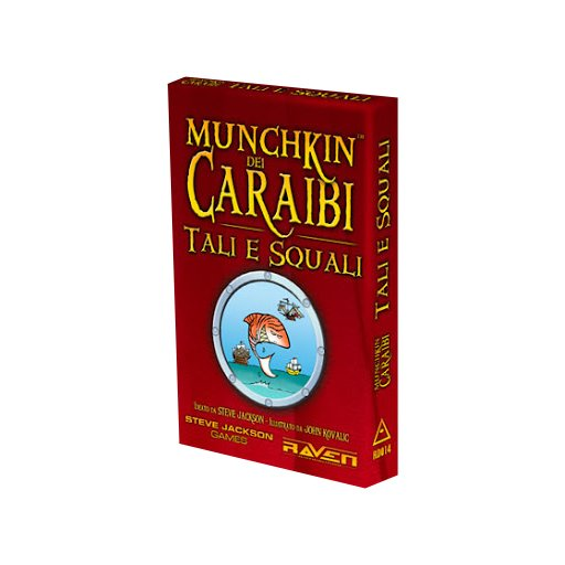 Munchkin dei Caraibi: Tali e Squali - Espansione  (Lingua: Italiano - Stato: Nuovo)