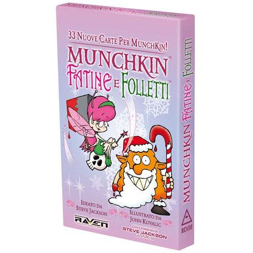 Munchkin: Fatine e Folletti - Espansione  (Lingua: Italiano - Stato: Nuovo)
