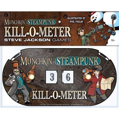 Munchkin Steampunk: Kill-o-Meter - Espansione  (Lingua: Inglese - Stato: Nuovo)