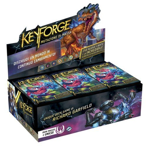 Keyforge: Mutazione di Massa, Box da Mazzi  (Lingua: Italiano - Stato: Nuovo)
