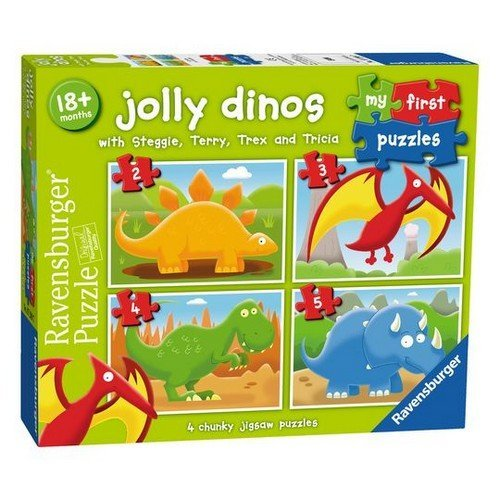 My First Puzzles: Jolly Dinos  (Lingua: Multilingua - Stato: Nuovo)