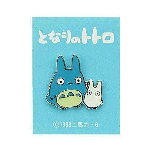 My Neighbor Totoro Pin Badge, Middle & Small Totoro  (Conditions: New)