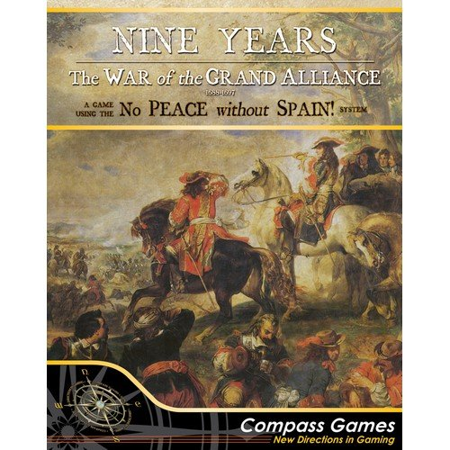 Nine Years, The War of the Grand Alliance 1688-1697  (Lingua: Inglese - Stato: Nuovo)